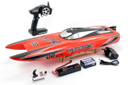 Bateau rc brushless RACENT ATOMIC 70cm