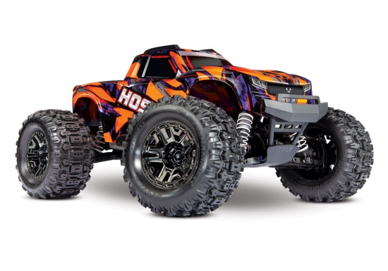 HOSS 3S - 1/10 4x4- BRUSHLESS - TSM - ORANGE - SANS batterie&chargeur